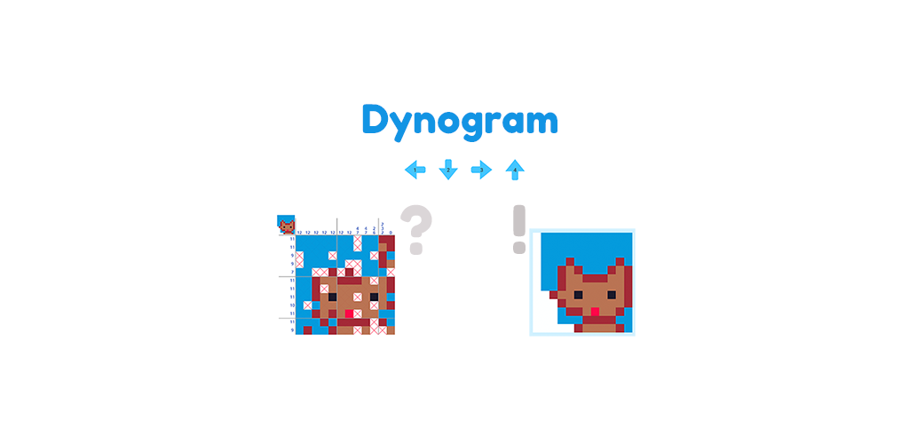 Dynogram - Dynamic nonogram, Dynamic drawing logic
