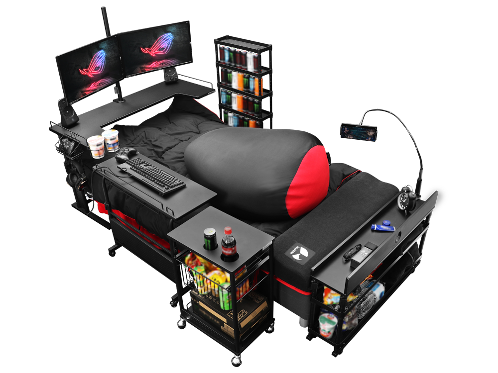 The Ultimate Gaming Bed